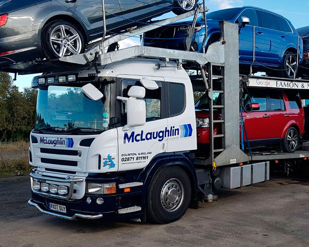 About us | Ireland & UK | McLaughlin Car Transport